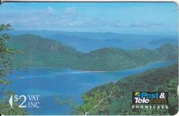 FIJI ISL.(GPT) - Tropical Rainforest, Fiji Posts & Telecommunications First Isssue $2, CN : 01FJB, Mint - Fiji