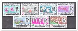 Maleisië Johor 1965, Postfris MNH, Flowers, Orchids - Maleisië (1964-...)