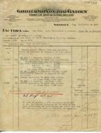 GUILLERMO VON ZUR GATHEN -SOLINGEN-FABRICA DE ARTICULOS PARA RECLAMO-JAHR 1927 - Imprenta & Papelería