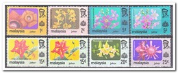 Maleisië Johor 1979, Postfris MNH, Flowers - Maleisië (1964-...)