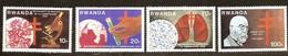 Rwanda Ruanda 1982 OBCn° 1122-1125 *** MNH  Cote 5,50 Euro Tuberculose Robert Koch - Rwanda