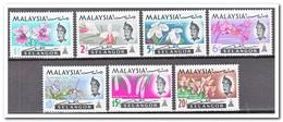 Maleisië Selangor 1965, Postfris MNH, Flowers, Orchids - Maleisië (1964-...)