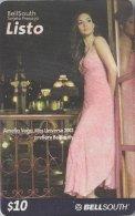 ECUADOR : BSP-141 $10 LISTO Amelia Vega Miss Universe 2003 USED - Ecuador