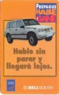 ECUADOR : BSP091 100 Orange Car  Hable Gane USED - Ecuador