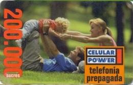 ECUADOR : CP-04 200 Celular Power Family USED - Ecuador