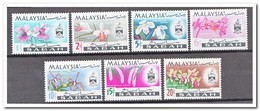 Maleisië Sabah 1965, Postfris MNH, Flowers, Orchids - Maleisië (1964-...)
