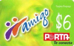 ECUADOR : POP088D $6 Amigo Green /printed By : CARVAJAL+impustos Inc USED - Ecuador