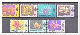 Maleisië Sabah 1979, Postfris MNH, Flowers - Maleisië (1964-...)