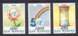 Saint-Marin San Marino  1995  Yvertn° 1399 -1401 *** MNH Cote 4,00 Euro - Saint-Marin