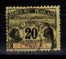 Senegal - Taxe YV 7 Oblitere Cote 8,50 Eur - Sénégal (1887-1944)