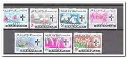 Maleisië Sarawak 1965, Postfris MNH, Flowers, Orchids - Maleisië (1964-...)