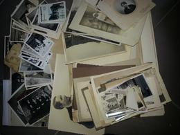 Gros Lot De Vieux Papiers, Photos Anciennes, CDV, Gravure XIXe, Document Notaire à Trier - Manuscripts