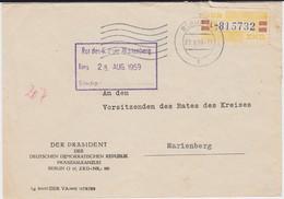 DDR Dienst B ZKD Mi 25 Bf DDR Präsident Berlin 1959 - DDR