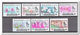 Maleisië Pahang 1965, Postfris MNH, Flowers, Orchids - Maleisië (1964-...)