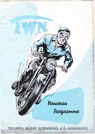 """Motos  """"Triumph Werke Nürnberg      """"TWN"""" - Pubblicitari"""