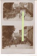 1916/1918 Somme Nord Inhumation D'un Soldat Allemand Revue Clique Orchestre 1cart Ph Ww1 14-18 1914/1918 Poilus Tranchée - Guerre, Militaire