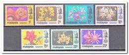 Maleisië Kelantan 1979, Postfris MNH, Flowers - Maleisië (1964-...)