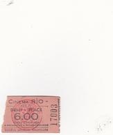 """Cinéma  """"Rio"""" à Ghlin - Biglietti D'ingresso"""