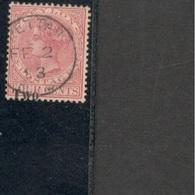 Ceylon1888-90:Scott146 Used.clean ,clear Cancellation - Ceylan (...-1947)