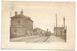 SAINT CHERON - La Gare - Train - Saint Cheron