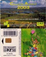 TARJETA TELEFONICA DE LUXEMBURGO. TP34 (065) - Luxembourg