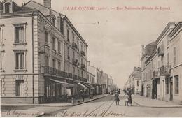 Le Coteau (loire) Rue Nationale (route De Lyon) - Francia