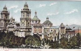 MEXICO. LA GRAN CATEDRAL DE MEXICO.-TBE-BLEUP - Mexico