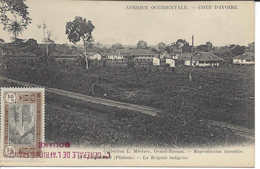 58 ABIDJAN (plateau), La Brigade Indigène, CÔTE D'IVOIRE, Carte Postale Non Circulée - Ivory Coast