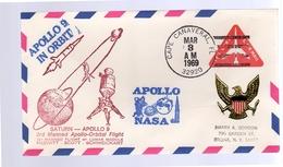 Cape Canaveral Saturn Apollo 9 NASA 1969 (503) - Vereinigte Staaten