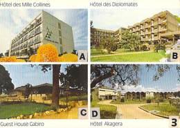 Afrique- RWANDA Hotels Du Rwanda  (Editions SABENA  Photo Jean Gilllis) *PRIX FIXE - Rwanda