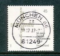 GERMANY Mi.Nr. 2958 50. Jahrestag Des Beginns Des Zweiten Vatikanischen Konzils - Used - Gebraucht