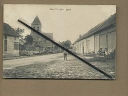 CPA Rétrécit - Hallivillers  - Eglise - France