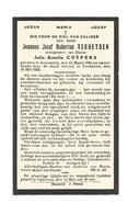 D 164. JOANNES VERHEYDEN Echtg. J.Cuypers - °KESSENICH 1905 / +RECKHEIM 1932 - Images Religieuses