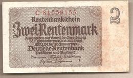 Germania - Banconota Circolata Da 2 Marchi P-174b.1 - 1937 - 1933-1945: Drittes Reich
