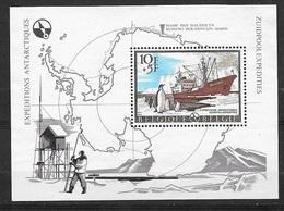 Belgique Bloc Feuillet N°42  Expéditions Antartiques Base Baudouin   Neuf (* )  TB       Soldé ....... - Timbres