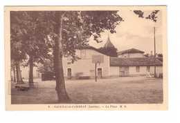 40 Saugnac Et Cambron La Place Cpa Cachet 1951 - France