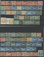 FRANCE - COLLECTION DE 400 TIMBRES NEUFS*/NEUFS (*) SANS GOMME/OBLITERES AVANT 1900 POUR ETUDE - VOIR SCANNS RECTO VERSO - France