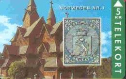 TELESONDER : DENTP43 Stamp NORWEGEN Nr.1 MINT - Denmark