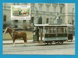 Suomi Finland 1988  Mi.Nr. 1052 , EUROPA CEPT Transport- Und Kommunikationsmittel - Maximum Karte - 27.5.1988 - Europa-CEPT