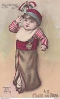 Rare Cpa La Croix De Papa Sur Bébé - Guerre 1914-18