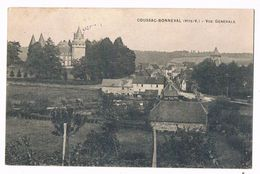 """COUSSAC - BONNEVAL  87  Vue Générale En 1915 """" Voir Dos """" - France"""