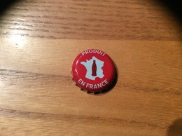 "Capsule ** ""Coca-Cola - PRODUIT EN FRANCE"" CP - Soda"