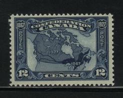 Canada UNITRADE  #  145  ( Z8 )  Hinged   Map Of Canada - 1911-1935 Reinado De George V