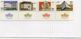 1983   NOUVEL AN     N°   879 / 82      NEUF    TAB    COTE    7,00  EURO - Israel