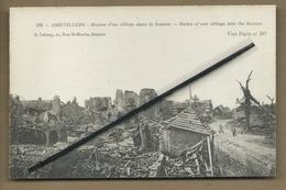 CPA  Souple -  Assevillers - Ruines D'un Village Dans La Somme - Ruins Of One Village Into The Somme - France