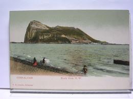 GIBRALTAR - ROCK FROM N. W. - ANIMEE - Gibraltar