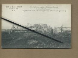 CPA  Souple - Dompierre -(Somme ) - Offensive Franco-Anglaise - Les Ruines De La Sucrerie - Guerre 1914-17 - France