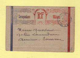 Correspondance Militaire - Tresor Et Postes 189 - 1917 - Marcophilie (Lettres)