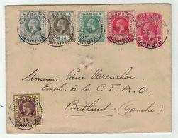 Grande-Bretagne // Ex-Colonies // Gambie // Lettre-Entier Postal Pour La Gambie - Gambia (...-1964)
