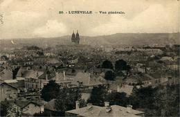 LUNEVILLE Vue Générale - Luneville